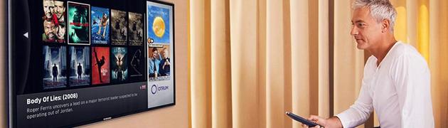 Hotel interactive TV