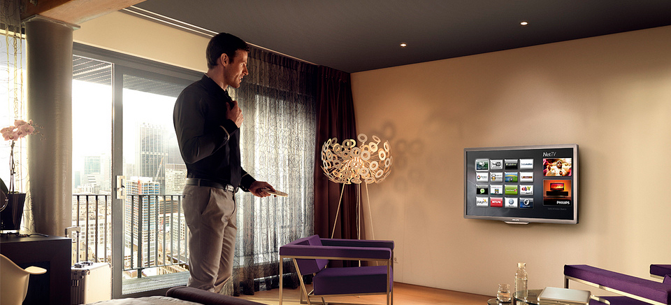 Interactive hotel TV